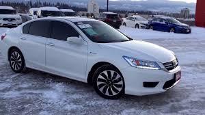 honda accord 2014 white. Exellent Honda 2014 Honda ACCORD Hybrid Touring  Harmony White U5422 Kelowna  BC Throughout Accord YouTube
