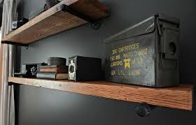 diy office shelves. diy industrial shelving tutorial/ black+decker autosense drill giveaway diy office shelves