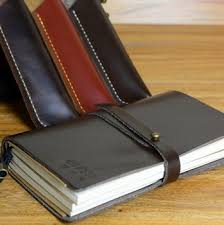 vine leather journal notebook for writing drawing sketching durable leather diary book