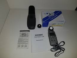 Used Sekonic L 358 Light Meter Sekonic L 358 Flash Master Light Meter Classifieds For Sale