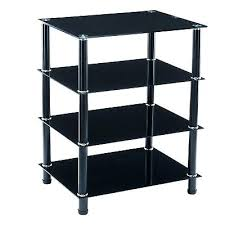 tempered glass tv stand 4 tier tempered glass stand shelves console table flat pack black tempered glass tv stand weight capacity