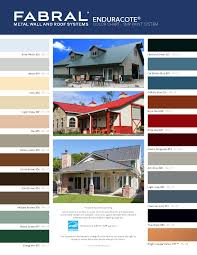 Taylor Metal Products Color Chart Metal Roofing Kay Supply