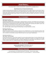 Physical Education Teacher Resume Impressive Sports Teacher Resume Career Resume Template Misc Photos