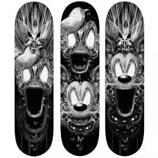 Skateboards Designs 25 Artistic Skateboard Designs