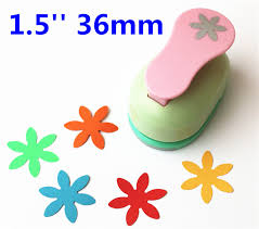 Flower Paper Punch Tool 1 5 3 6cm Punch Big Petals Embossed Device Scrapbooking Paper
