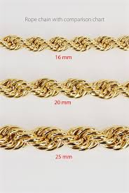 Gold Rope Chain Hollow Chr H G