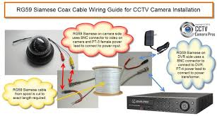 rg59 siamese coax cable wiring guide for cctv camera installation rg59 siamese coax cable wiring guide for cctv camera installation cctvcamerapros com rg59 siamese coax cable wiring guide s 1021 htm