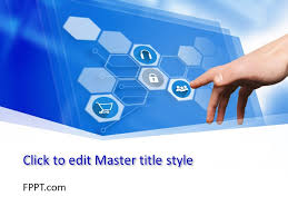 Free Digital World Powerpoint Template Free Powerpoint Templates