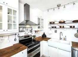 white cabinets with wood countertops small country kitchen with white glass door cabinets wood and white white cabinets with wood countertops
