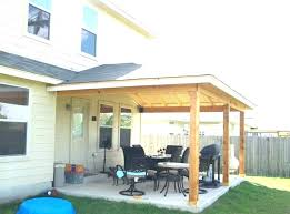 patio build patio cover building an attached average cost to