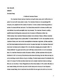 essays on the american dream co extended essay a dream deferred both jay gatsby from the great