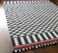 red dhurrie rug red and black dhurrie rug