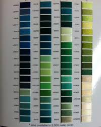 Exquisite Thread Color Chart Exquisite B13070 Real Thread 300 Color Card Chart 40wt 120 2