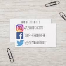 Instagram Business Cards Zazzle