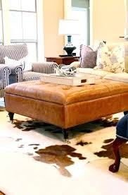 elegant rugs for brown couches or in this rustic living room the brown cowhide rug pairs