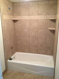 tiled bathtub surround tiles for the tub in decorations 4