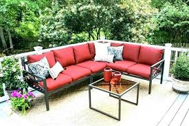 red patio furniture cushions resin wicker