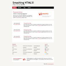 Coding An HTML 5 Layout From Scratch — Smashing Magazine