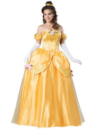 ball gown costume. disney beauty and the beast belle ultra prestige adult costume ball gown