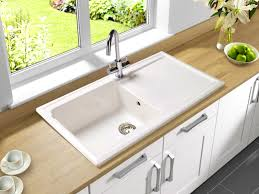 Porcelain Kitchen Sinks Undermount Amazing On Within Bathroom Knockout  Interior Engaging 11