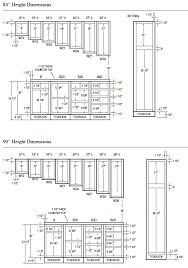 kitchen cabinet size chart beautiful awesome kitchen cabinet drawings taste