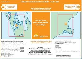 Visual Navigation Chart Nz D1 D2 Visual Navigation Chart Auckland Terminal Christchurch Terminal 1 125 000 Effective 8 November 2018