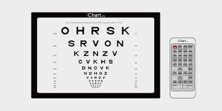 Digital Vision Chart Vision Chart Aone Medical Equipment