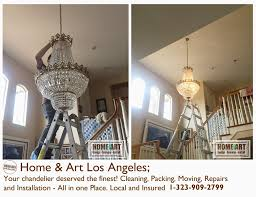 at home art we know your chandelier deserved the finest cleaning ng moving repairs and installation all in one place