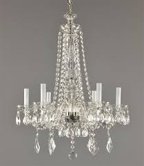 amazing vintage chandelier with all crystal c1950 plan 19
