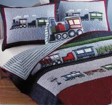 whole train bedding sets twin applique quilt for boys 100 cotton quilted bedspreads limited quantity super soft duvets bedding collections from sakuna