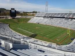 Scott Stadium View From Upper Level 527 Vivid Seats