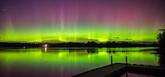 Northern Lights Maine Northern Lights Last Night Near Sugarloaf Mountain In Maine