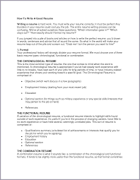 Cover Letter How To Write A Resume In Canada How To Write A Cover
