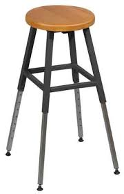 adjustable height chair. Adjustable Height School Lab Stool By Balt Chair