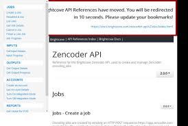 Encoder Cross Reference Chart Brightcove Zencoder Api Overview Documentation