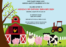moo invitations farm party invitations theruntime com