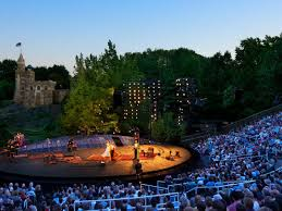 Delacorte Theater Seating Chart Central Park Free Shakespeare In The Park Tickets In Central Park