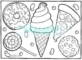 Printable Food Coloring Pages Healthy Food Coloring Pages Food
