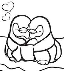 cute penguin coloring pages. Fine Cute Printable Winter Coloring Pages Penguins In Love Via Parentscom Penguin  For Cute Pages C