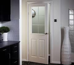 half glazed interior doors with rised panels