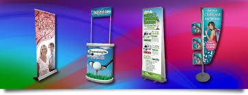 Portable Display Stands For Exhibitions Best Exhibition Banner Stands Pop Up Displays Display Print