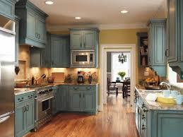 Mediterannean Blue Rustic Kitchen