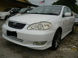toyota corolla 2005 white.  2005 2005 Toyota Corolla Altis G Sedan Intended White O