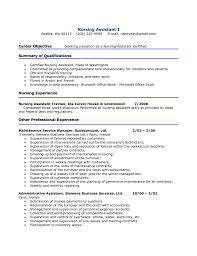 Example Of Resume For Nurses Qualifications Resume Ixiplay Free