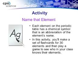 Atoms, Elements, and Compounds Chapter Seven: Elements and the ...