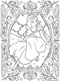 Coloriage Mandala Disney Princesse Blanche Neige Dessin