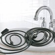 toilet snake brush hair removal tool drain sink cleaner bathroom unclog sink tub
