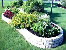 how to edge a garden good looking home depot garden border plastic curbing landscape brick landscaping