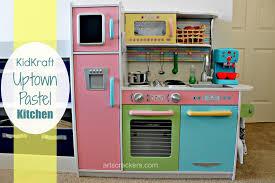 Pastel Kitchen Kidkraft Uptown Pastel Kitchen Review Arts Crackers