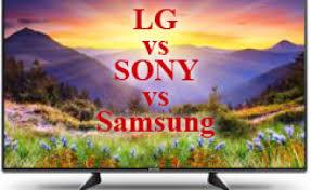 Sony Comparison Chart 55 Inches Tv Lg Samsung Sony Region Us Canada 2018